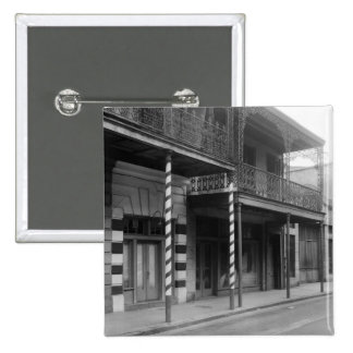 New Orleans Barbershop 1930s Pinback Buttons