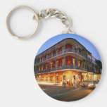 NEW ORLEANS BASIC ROUND BUTTON KEY RING