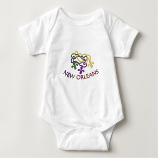New Orleans Beads Baby Bodysuit