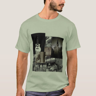 new orleans black and white T-Shirt