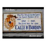 New Orleans Bourbon Street Postcard