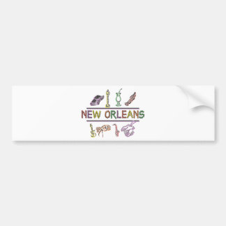 New Orleans Bumper Sticker