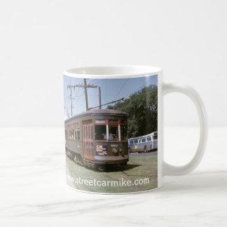 New Orleans Bus 1 Basic White Mug