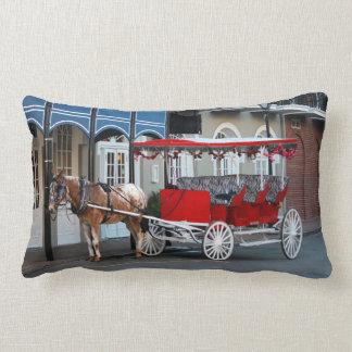 New Orleans Carriage Ride Lumbar Cushion