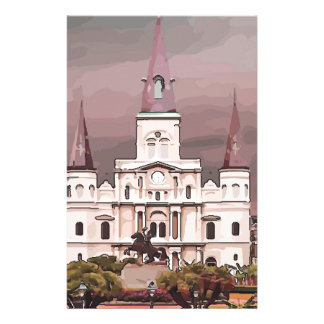 New Orleans Cathedral Stationery Design