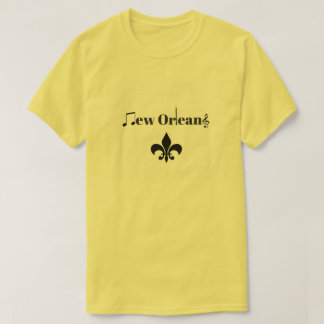 New Orleans Clarinet Jazz Music Themed Shirt