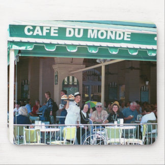 New Orleans Coffee and Beignets Mouse Mat