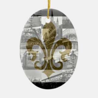 New Orleans Collage [Ornament] Christmas Ornament