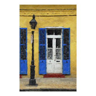 New Orleans Colors - Doors & Shutters Print