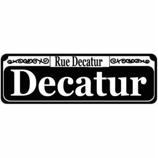 New Orleans Decatur St Sign Photo Cutouts