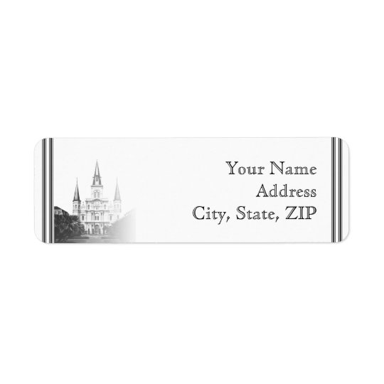 New Orleans Destination Return Address