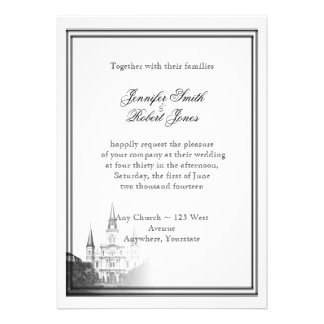 New Orleans Destination Wedding Invitation