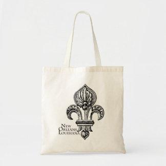 NEW ORLEANS Fleur-de-Lis Tote Bag