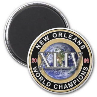NEW ORLEANS - Football World Champions 2009 Magnet