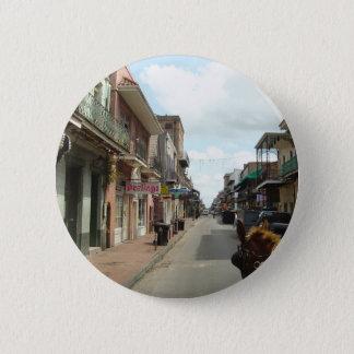 New Orleans French Quarter 6 Cm Round Badge