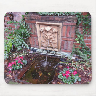 New Orleans French Quarter Fountain Mousepad
