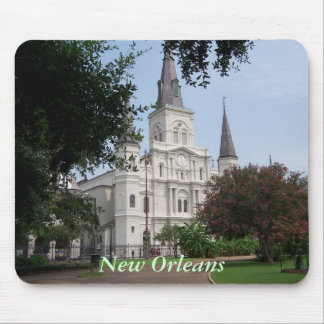 New Orleans French Quarter Mouse Mat