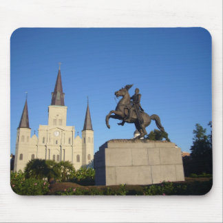 NEW ORLEANS FRENCH QUARTER MOUSE PAD