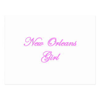 New Orleans Girl Postcard