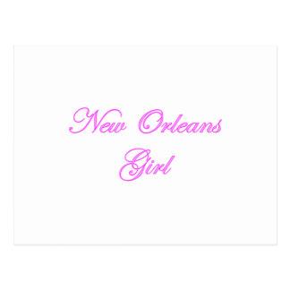 New Orleans Girl Postcard