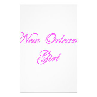 New Orleans Girl Stationery Paper