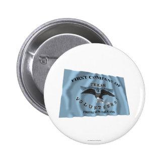 New Orleans Greys Flag 6 Cm Round Badge