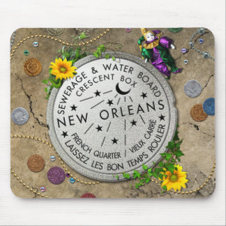 New Orleans Iconic Water Meter Mouse Mat