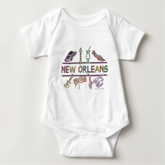 New-Orleans-ICONS- copy Baby Bodysuit