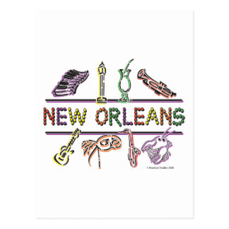 New-Orleans-ICONS- copy Postcard