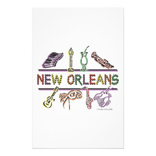 New-Orleans-ICONS- copy Stationery Design