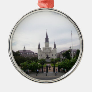 New Orleans Jackson Square Christmas Ornament