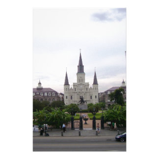 New Orleans Jackson Square Custom Stationery