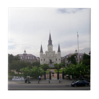 New Orleans Jackson Square Tile