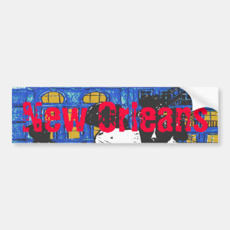 New Orleans Jazz Band Bumper Sticker