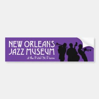 New Orleans Jazz Museum bumper sticker