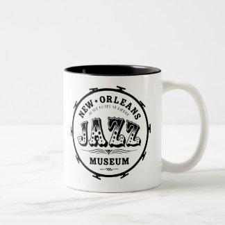 New Orleans Jazz Museum drum mug