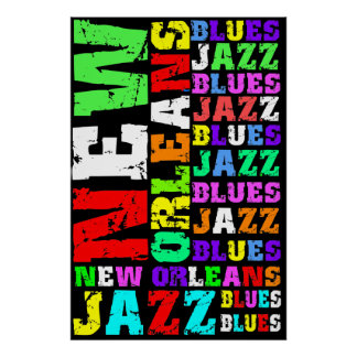 New Orleans Jazz Poster