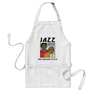 New Orleans Jazz Standard Apron