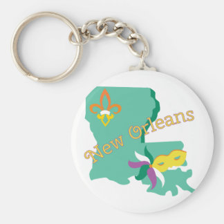 New Orleans Key Ring