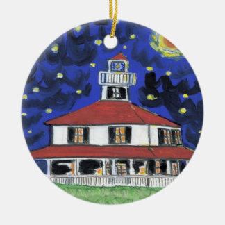New Orleans Lighthouse Lakefront Christmas Ornament