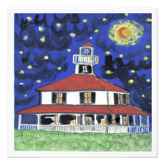 New Orleans Lighthouse Lakefront Personalized Announcements