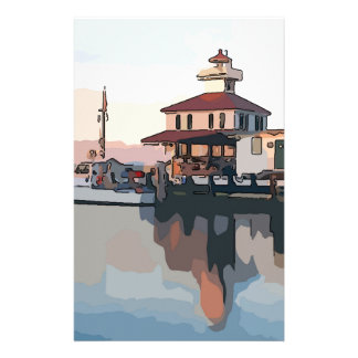 New Orleans Lighthouse Stationery Design