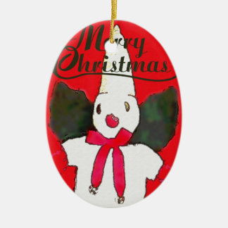New Orleans Little Snowman Christmas Ornament