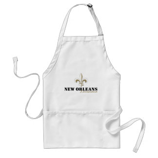 New Orleans Louisiana gold Standard Apron