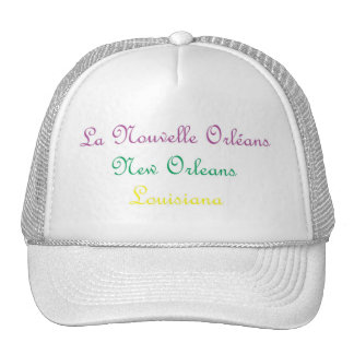 NEW ORLEANS LOUISIANA HAT