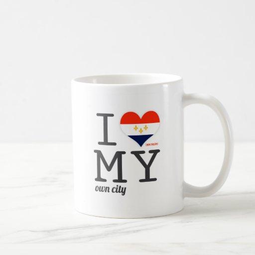New Orleans Louisiana I love my own city Mug