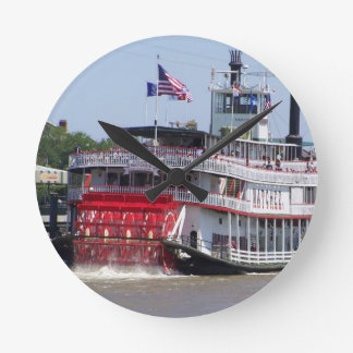 New Orleans Louisiana Mississippi River Boat Clocks