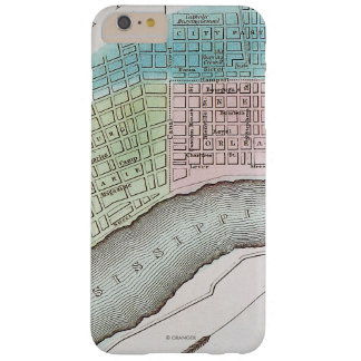 New Orleans Map, 1837 Barely There iPhone 6 Plus Case