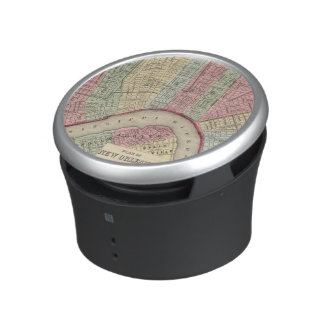 New Orleans Map by Mitchell Bluetooth Speaker
