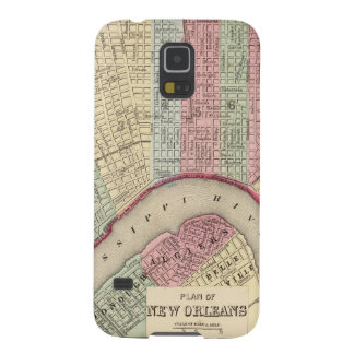 New Orleans Map by Mitchell Galaxy S5 Case